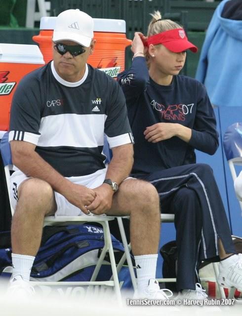 Tennis - Wayne Bryan - Anna Kournikova