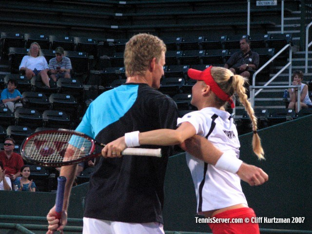 Tennis - Mark Knowles - Anna Kournikova