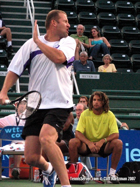Tennis - John-Laffnie De Jager - Thomas Blake