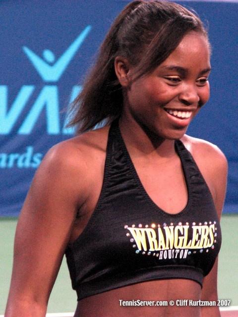 Tennis - Houston Wranglers Cheerleaders