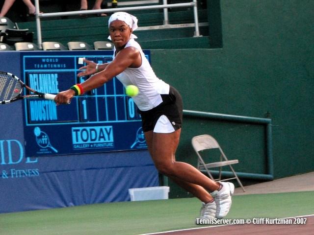 Tennis - Angela Haynes