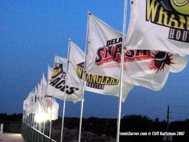 Tennis - World Team Tennis Flags