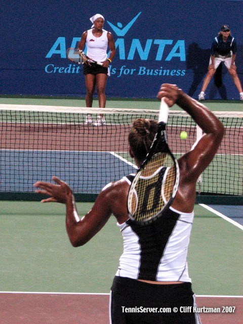 Tennis - Mashona Washington - Angela Haynes