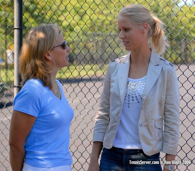 Tennis stars - Elena Dementieva - Anne Worcester