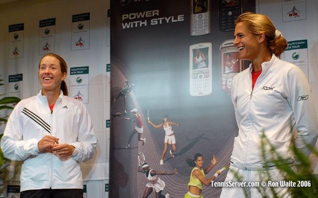 Tennis - Amelie Mauresmo - Justine Henin