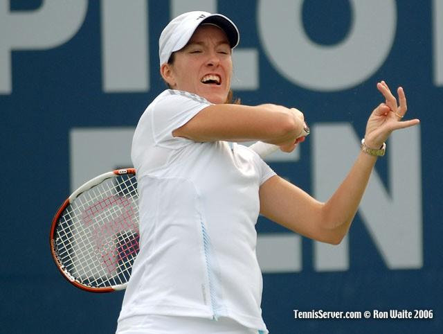 Tennis - Justine Henin