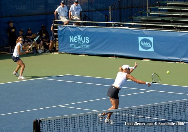 Tennis - Anastassia Rodionova - Andreea Vanc