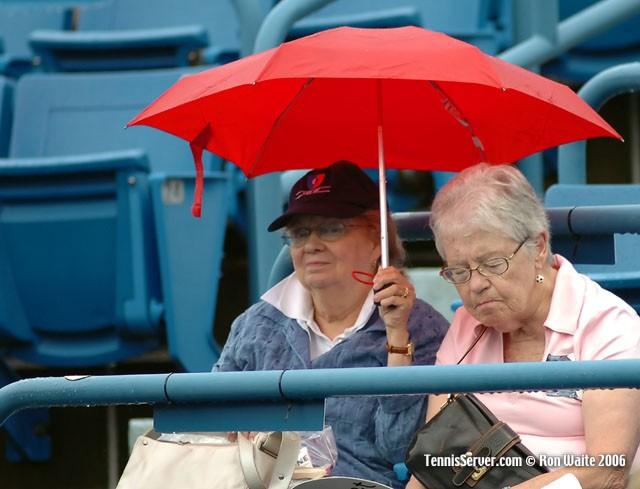Tennis - Rain Delay