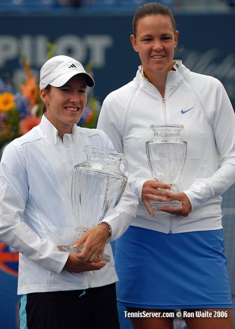 Tennis - Justine Henin - Lindsay Davenport